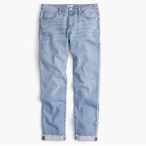 J Crew Slim Broken In Boyfriend Jeans Shelton Wash